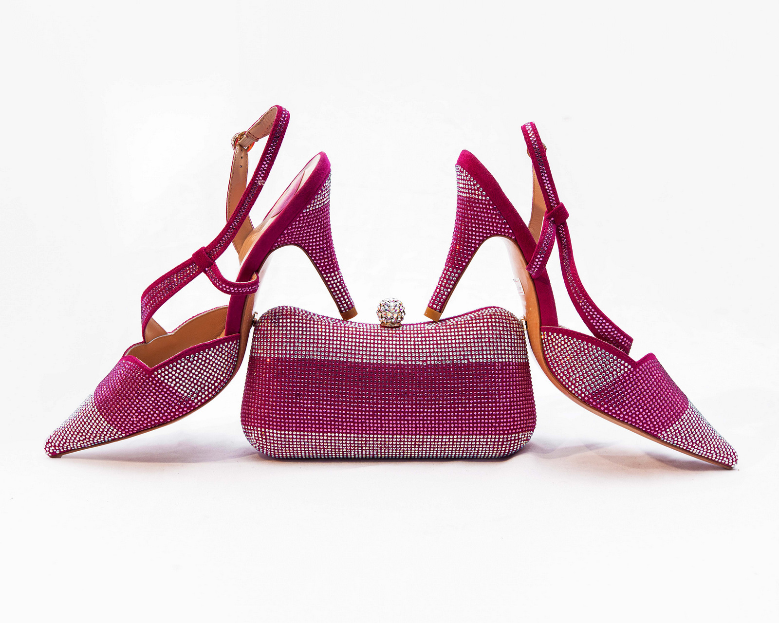 KO Bling Sandals And Purse