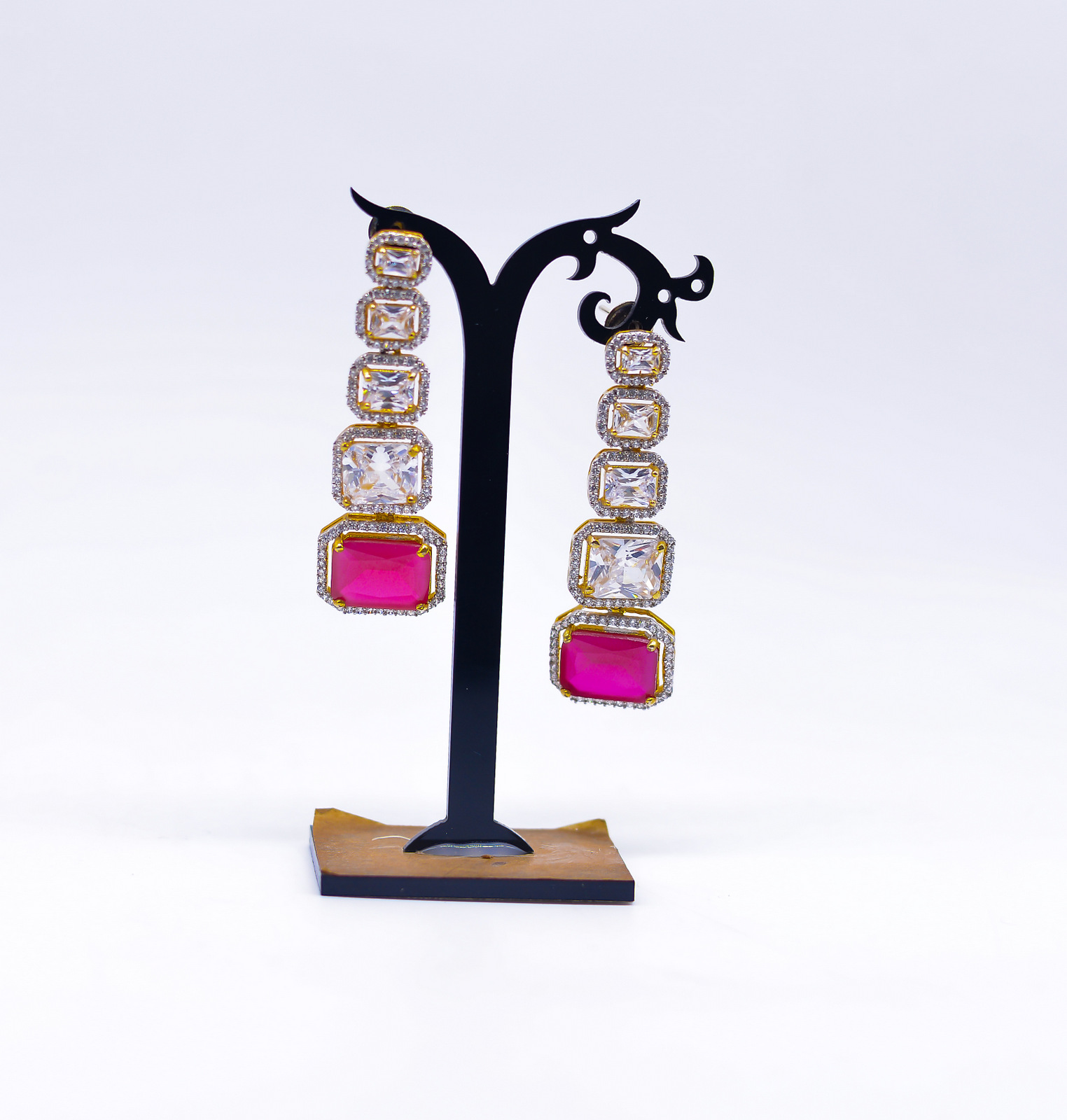 Ruby Drop Earring