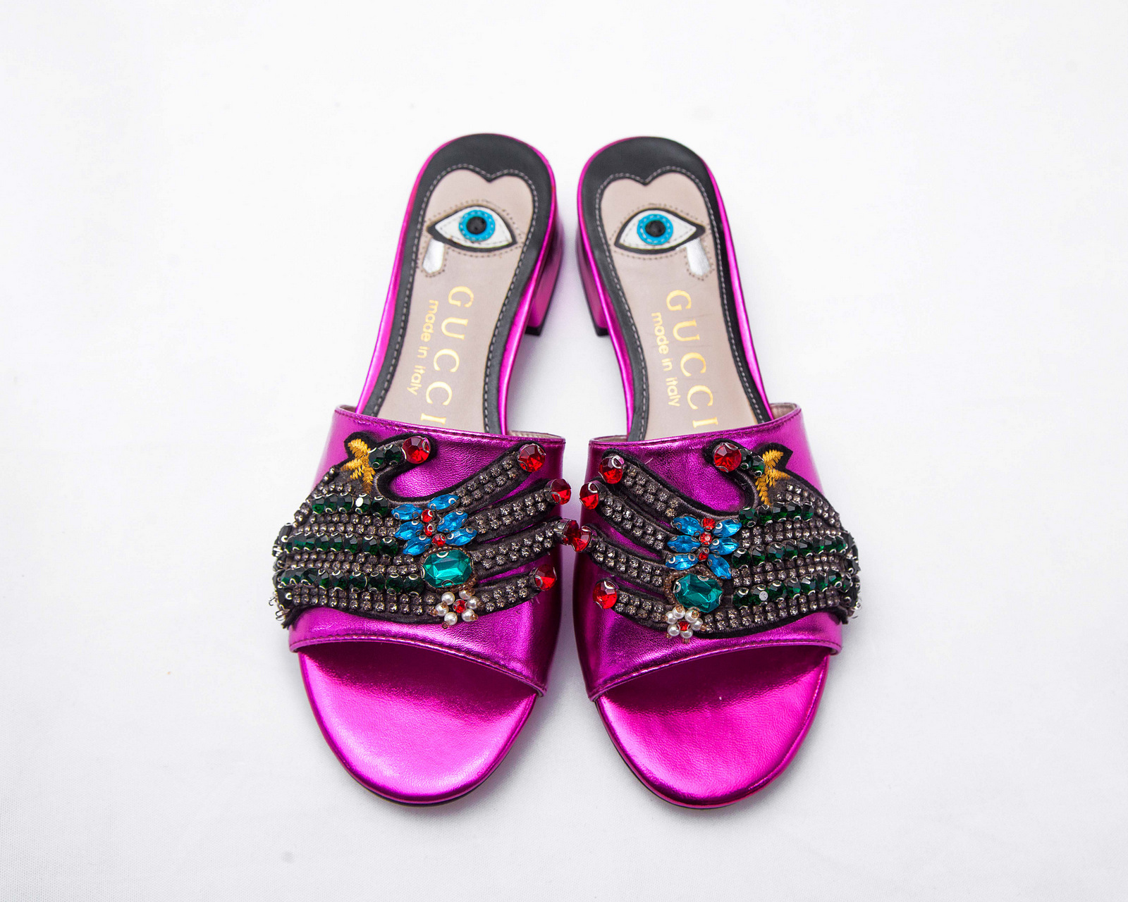 Gucci Evil Eye Slippers
