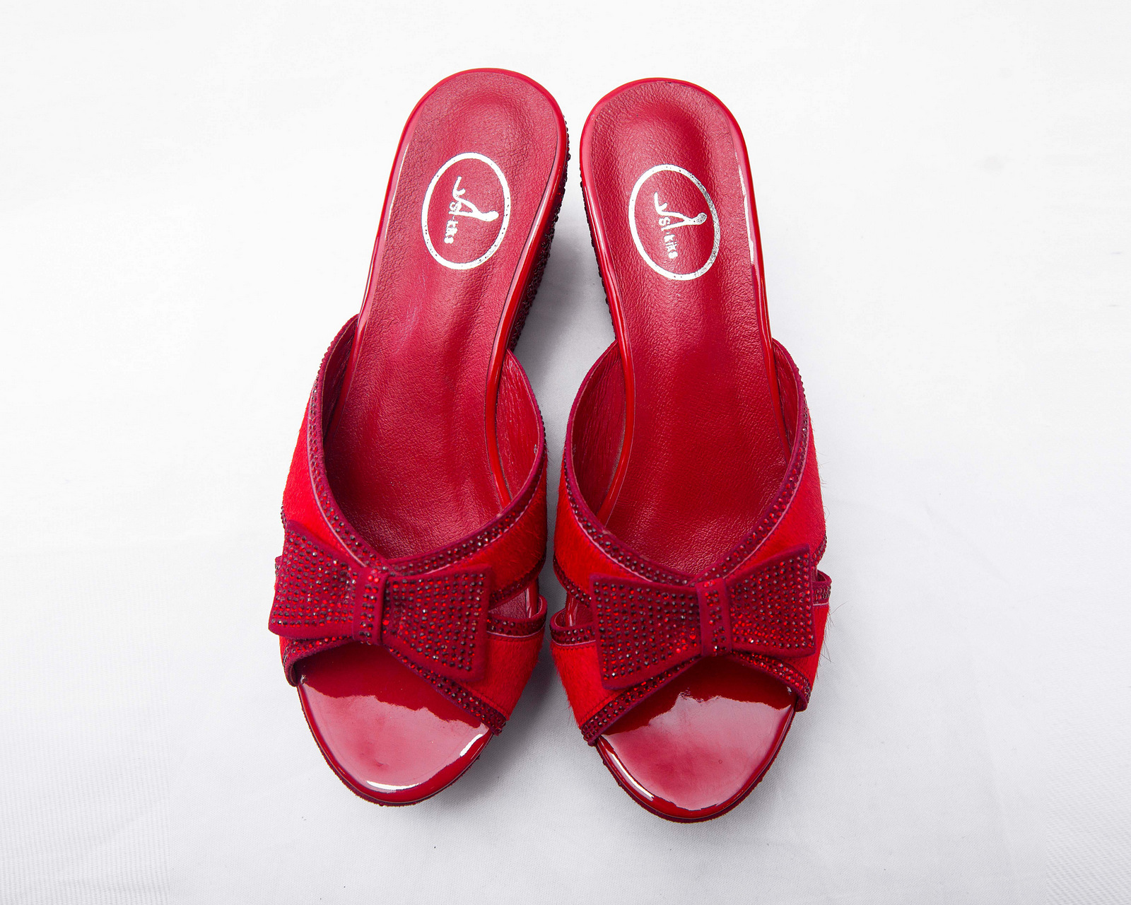 St. Kiks Wedge Slippers