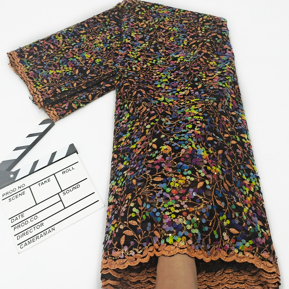 Multicolor French Lace